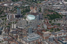 Leeds aerial photograph of the Merrion shopping centre