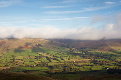 Edale Valley from Rushup Edge