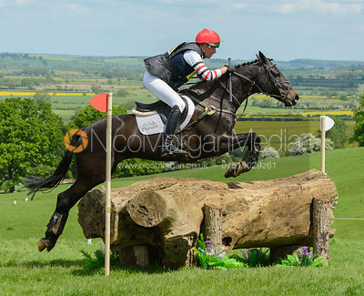 Lucy Jackson and MISTER O - Rockingham Castle International Horse Trials 2016