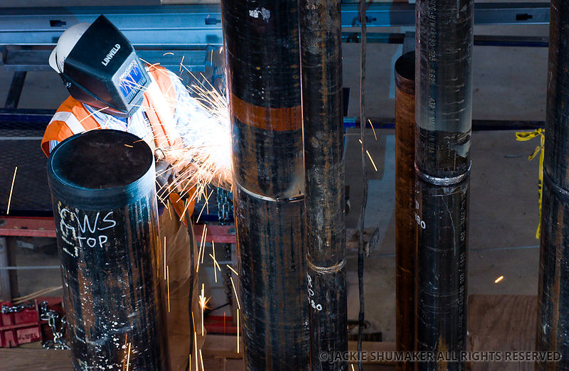 Welder construction