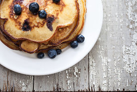Blueberry Pancakes