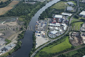 Irlam Container Terminal Peel Ports and Wharfside Business Park Cadishead Way Irlam Manchester