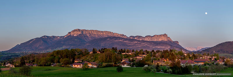 Rise of the Full Moon - Parmelan - Annecy-le-Vieux