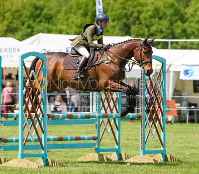 Eliza Stoddart and CLIFFORD, Fairfax & Favor Rockingham Horse Trials 2018