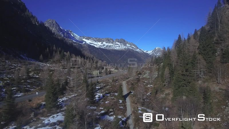 Alpine Village of Argentiere Chamonix France