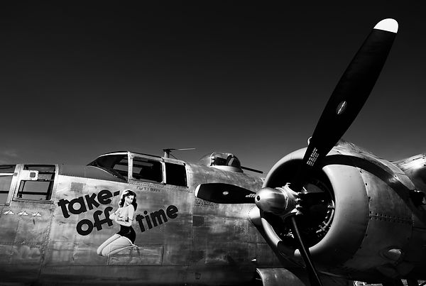 "B-25J ""Take-off Time"""