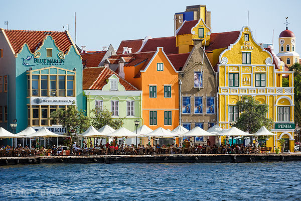 Dutch style buildings, Willemstad, Curacao