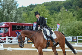 Alex Bragg with Zagreb, 2nd after dressage in the CIC 3*