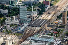 Eindhoven - Luchtfoto Centraal Station
