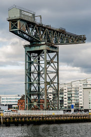 Finnieston Crane by the River Clyde, Glasgow