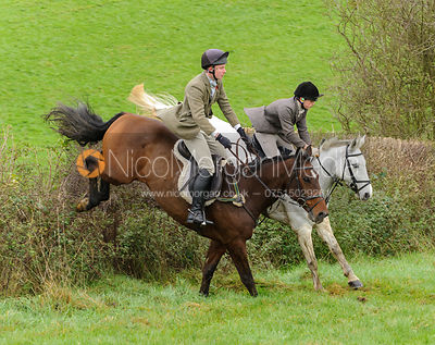 William Bell - The Cottesmore Hunt at Tilton on the Hill, 9-11-13