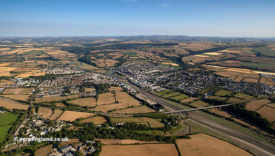 Wadebridge aerial photograph