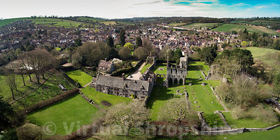 Wenlock Priory (Panorama)