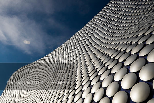 The iconic Selfridges building at The Bullring Shopping Centre, Birmingham.