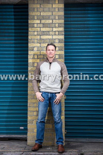 11th February, 2015. Actor Sean McMahon photographed at Player's Square, Dublin.Photo:Barry Cronin/www.barrycronin.com info@b...