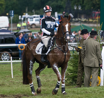 Zara Tindall (Phillips) - Land Rover Burghley Horse Trial 2008