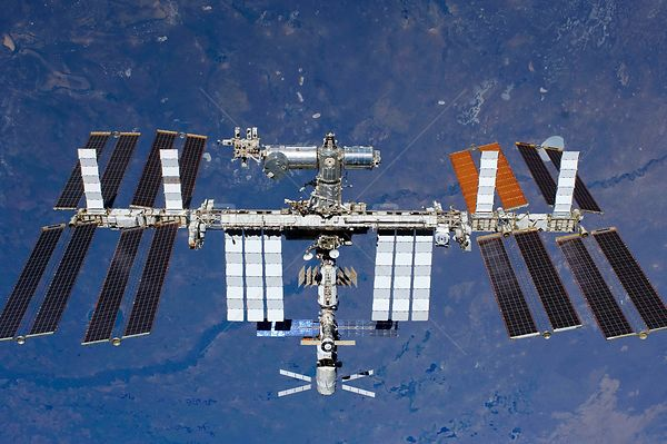 ABOARD THE INTERNATIONAL SPACE STATION -- 29 May 2011 -- The International Space Station is featured in this image photograph...