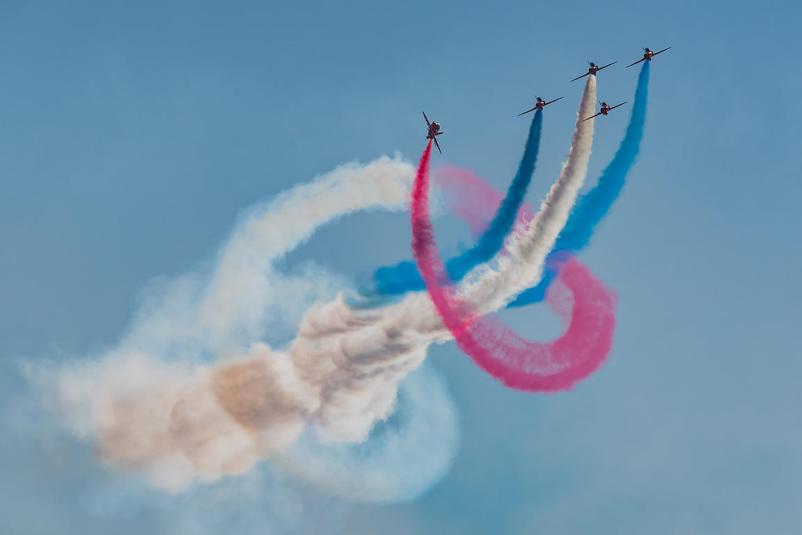 Red Arrows twister