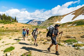 Adventure Hiking Backpacking - Pacific Crest Trail