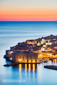 Old Town at night, Dubrovnik - BP4705