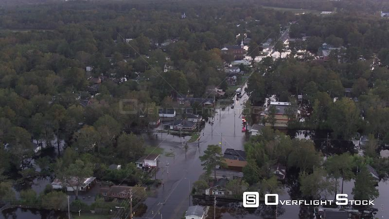 Flooding and Storm Aftermath of Hurricane Florence in North Carolina