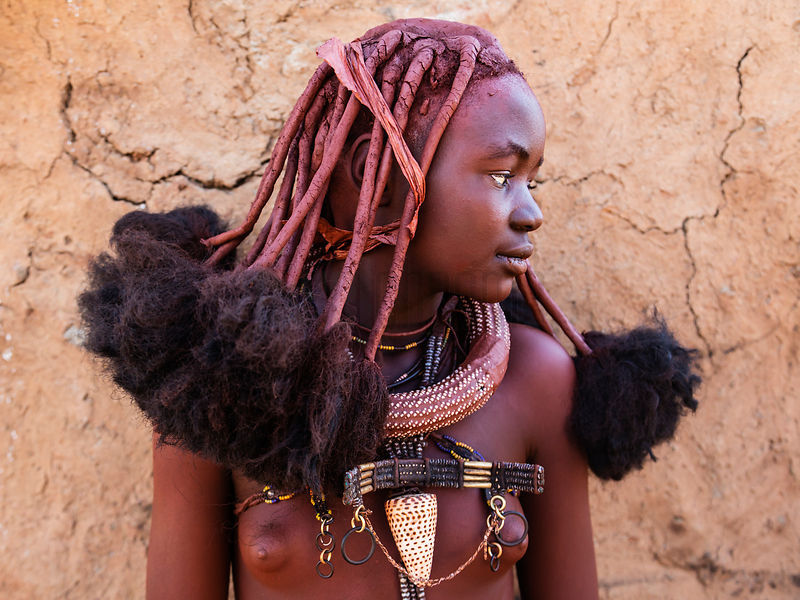 Young Himba Boys