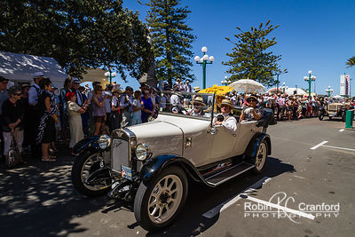 Art Deco Saturday 2012 - Vintage Car Parade.  License Plate =1925 Entry # 237
