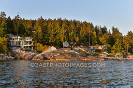 May 8th 2015, Scenic views during a boat cruise on Sunset Bay II from coal harbour out to Lighthouse point in West Vancouver....