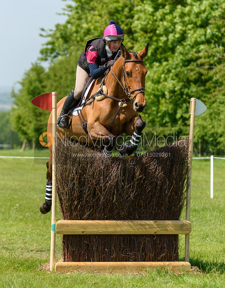 Sophie Fretwell and ATLANTIC REBECCA, Fairfax & Favor Rockingham Horse Trials 2018