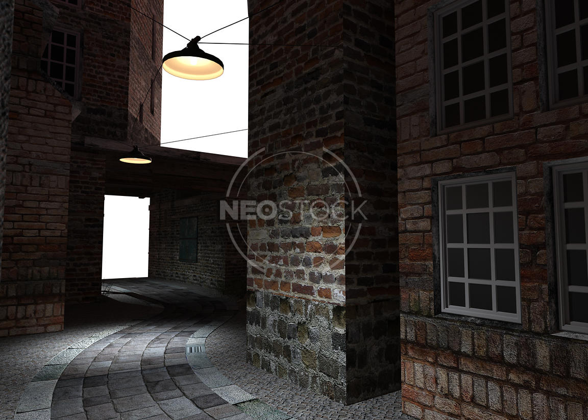 Old_London_Alley_-_13_-_Night