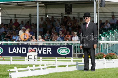 Arena Steward - dressage phase,  Land Rover Burghley Horse Trials, 5th September 2013.