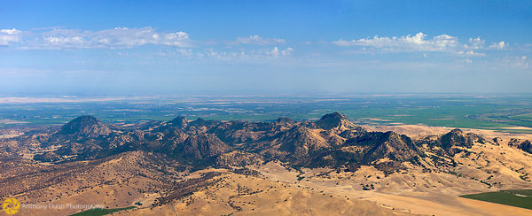 Aerial View of the Sutter Buttes #3