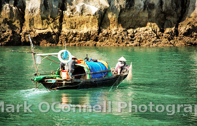 Fishing in Halong Bay Vietnam