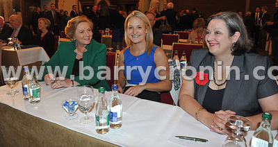 16th September 2013. Fine Gael parliamentary  meeting in The Hermitage, Killenard, County Laois.Pictured from left: Frances F...