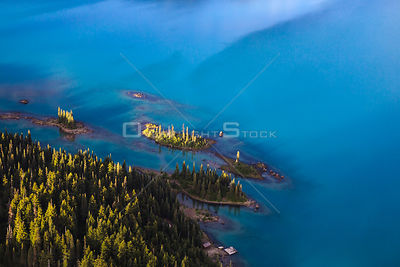 Garibaldi Lake Shore Line Whistler BC