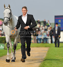 Bruce Haskell and Kiwi Smog - 2nd Inspection - Burghley 2010
