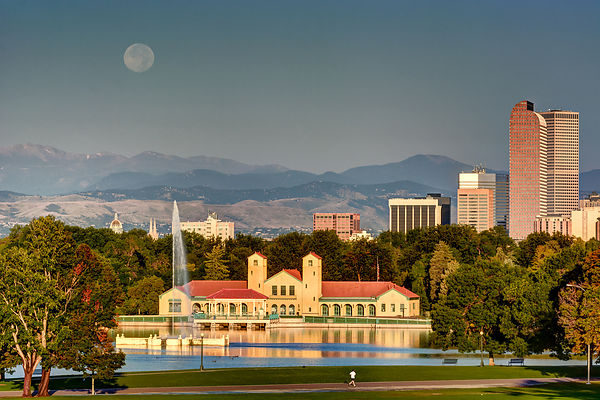 City Park Supermoon