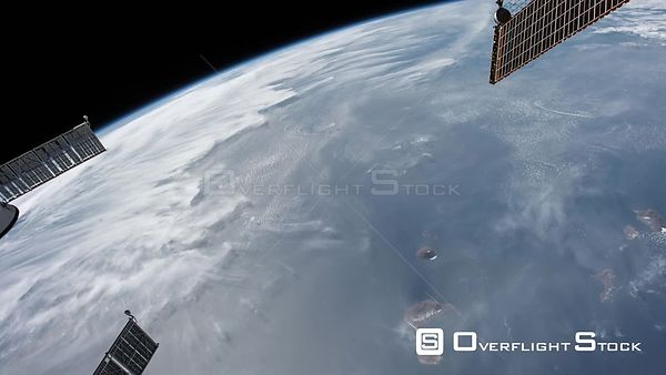 Time-Lapse from ISS over  Africa Alps Exp53 07 Dec 2017