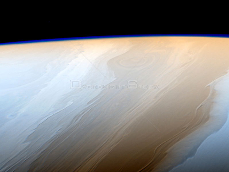 Cassini Captures The Art Of Saturn's Atmosphere