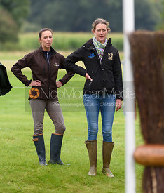 Dee Hankey and Willa Newton, Land Rover Burghley Horse Trials 2017