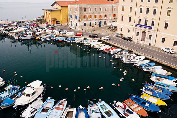 The Harbour of Piran, Slovenia