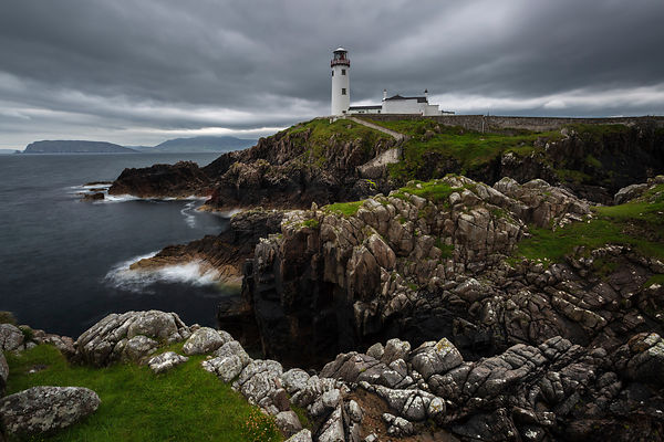 Fanad Lighthouse and the Cliffs at Fanad Head