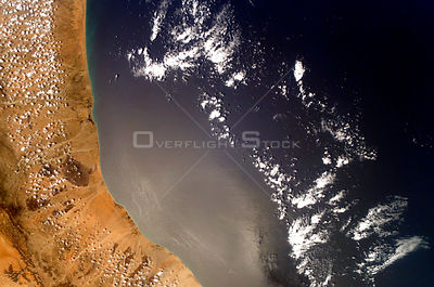 EARTH Somalia -- 23 Feb 2007 -- This image show the coast of Somalia and is centred at approximately