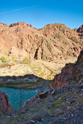 Bright Ange Creek & Colorado River- Phantom Ranch, Grand Canyon