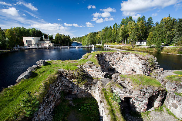 Ruins of Kajaani Castle (1604)