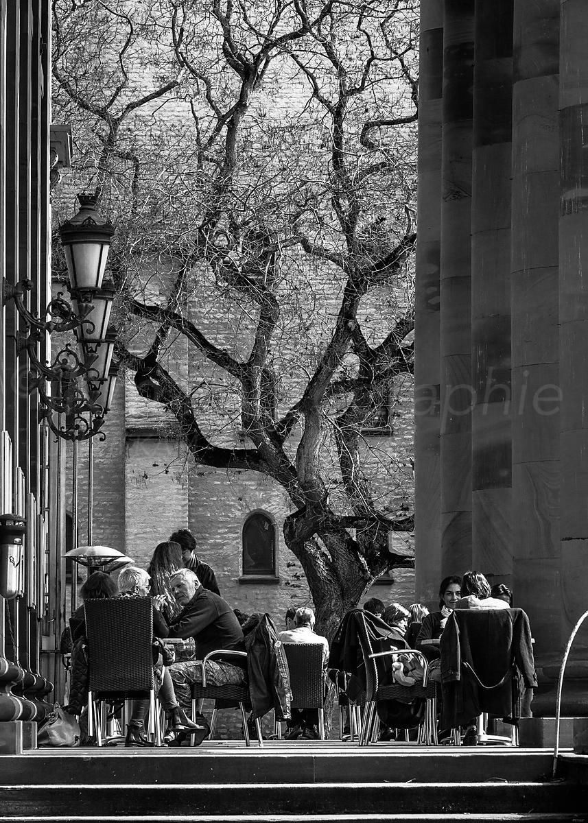 Street Photo - Thé à l'Opéra