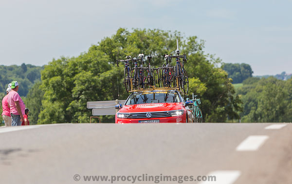 Technical Car - Tour de France 2017