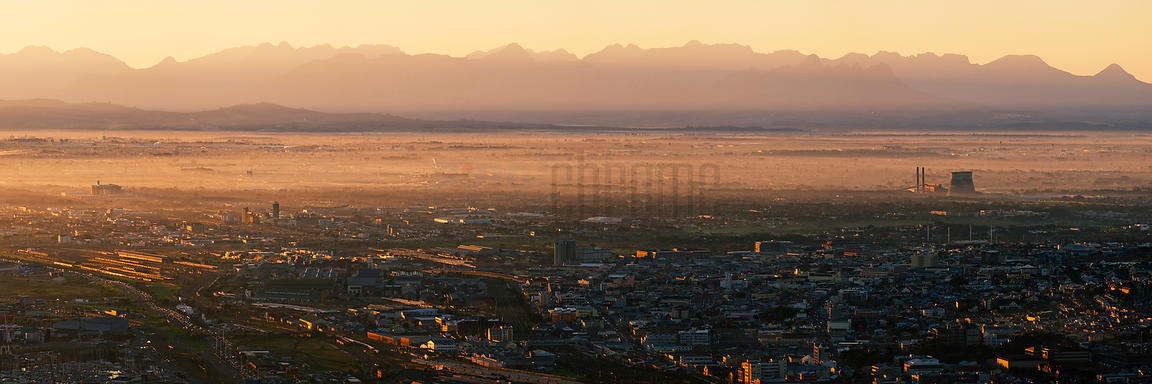 Sunrise over the Cape Flats