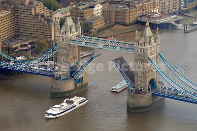 Tower Bridge at 11am on  11th November 2014