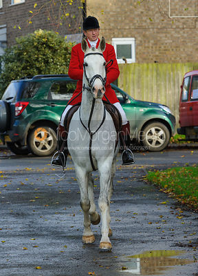 The Cottesmore Hunt at Braunston 12/11